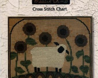 Teresa Kogut: Sunflower Sheep - Cross Stitch Pattern