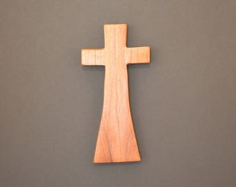 "Wood Cross;Christian Gift; Home Decor; Wood Gifts; Wedding Gift; Salvaged Wood;Mesquite; 5""x9""x1""; Free Ground Shipping USA; cc20-2102617-rs"