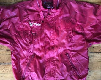 Vintage Style Auto Winston Drag Racing jacket large