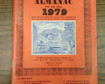 1979 Blum's Farmer's and Planter's Almanac