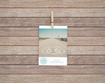 2018 Route 66 calendar Route 66 photograph calendar 5x7 calendar 4x6 calendar travel photography desk top calendar stocking filler