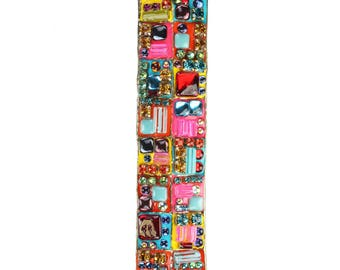Mezuzah in Bright Colors