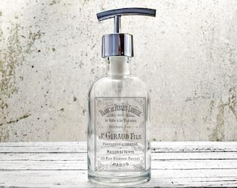 hand soap dispenser paris bathroom decor farmhouse kitchen decor bathroom accessories