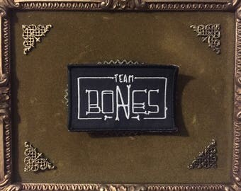 TEAM BONES Hand-made Patches