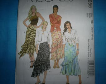 McCalls 5055 Size 12-14-16-18 tiered skirts.