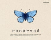 RESERVED for David