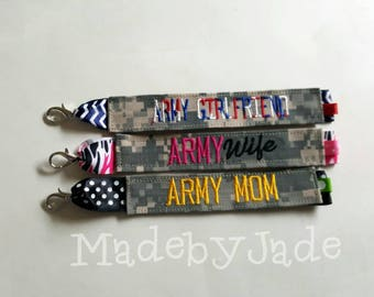 Army Nametape Bracelet/All branches available