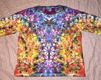 5579 Womens XL L.A.T. V-Neck 3/4 Sleeve 100% Cotton V Neck