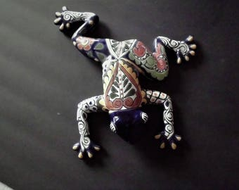 Frog - Pottery, Mexican