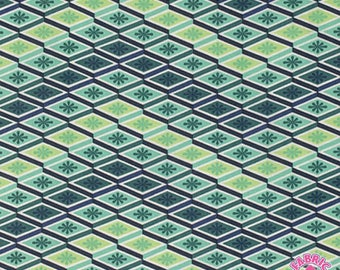 189000727 - Tula Pink Eden Labyrinth Sprout Geometric Cotton Fabric By The Yard