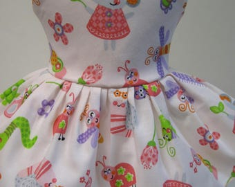Country Mouse, Sleeveless Dress for your 18 Inch Doll A