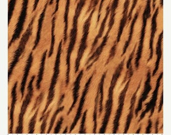 12% off thru July NATURESCAPES-FIELDS of GOLD- by the yard Northcott 21403-52 cotton quilt fabric gold black tiger stripe