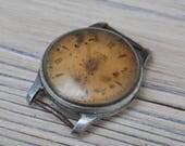 MAYAK Vintage Soviet Russian wrist watch for parts. Didn't work.