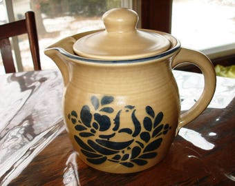 Phaltzgraff Folk Art Tea Pot