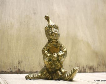 Brass Clown - Vintage - Patina - Home Decor