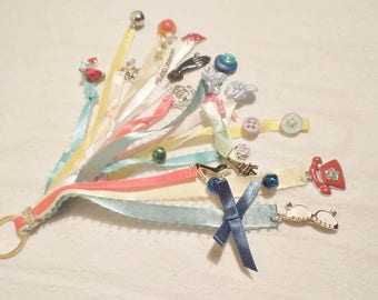 """Versatile Charm Dangle Accessory Themed """" Ribbons and Bows"""""""