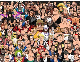 Classic WWF.