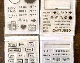 Studio Calico Clear Stamp Set Lot