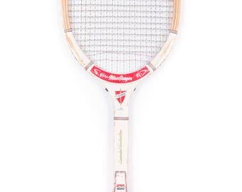 Vintage Wooden Tennis Racquet / MacGregor Challenger Tennis Racket / Antique Wood Tennis Racket / Antique Tennis Racket Sports Decor