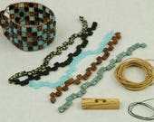 Bead Kit Portuguese Tile Cuff designed by Julianna C Avelar Jewel Loom