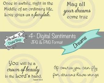 We Are 3 Digital Shop - Dreams Sentiments, Fantasy, JPEG, PNG