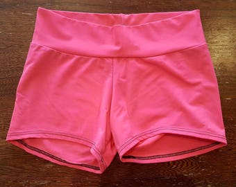 Solid Color Workout Shorts