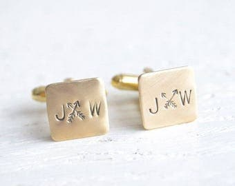 RESERVED - 16 sets Arrow stamped cufflinks plus 1 set