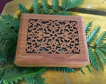 Fur Elise Music Box  / Walnut Wood Engraved Music Box / Lasercraft