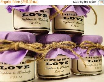 SALE 15% Off Ends Sunday 180 Mini Mason Jar Favors