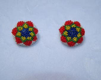 Vintage Beaded Buttons