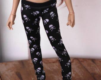 Slim MSD skull leggings
