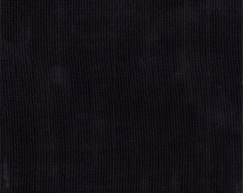 Black Oilcloth, Fabric By The Yard