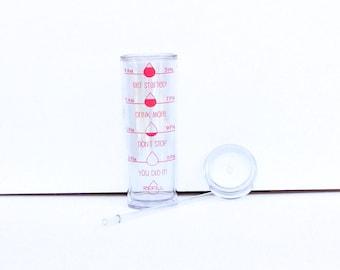 Water Intake Tracker - Water Intake Bottle - Water Intake Tumbler - Skinny Tumbler - BPA Free Tumbler - Weight Loss Goal - Water Goal Bottle
