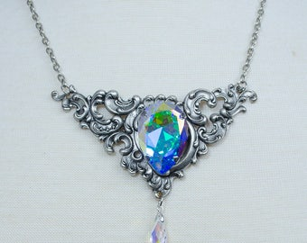 Iridescent Fairy necklace