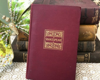 "Handsome Edition of ""Shakespeare's Complete Works""  Pembroke-Volume 1"
