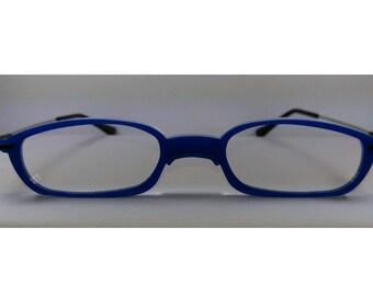 Anime blue frame Cosplay Costume Glasses