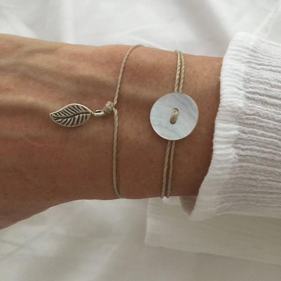 minimal jewelry, beachcomber boho bracelet, hill tribe silver