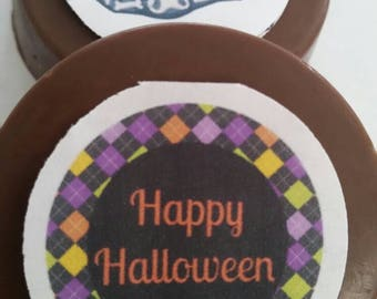 24 Custom Halloween Party Favors- Pops or Oreos