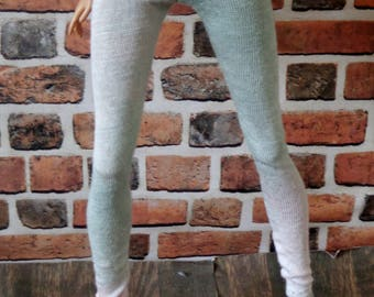 Silver/Gray Tie Dye Leggings for Barbie, or similar size fashion doll