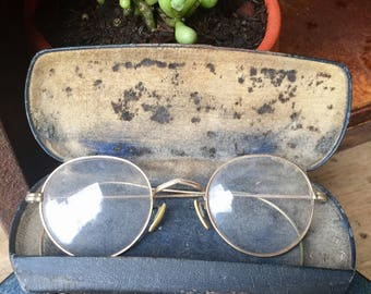 Vintage Eyeglasses in Original Black Case