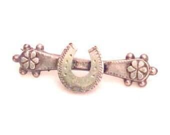 Sweetheart Brooch or Pin, World War I, Sterling Silver Vintage Jewelry SUMMER SALE
