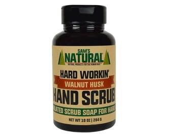 Hard Workin' Walnut Hand Scrub - Gifts - Natural, Vegan + Cruelty-Free