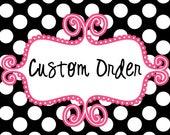 Custom Ordeer for Julia