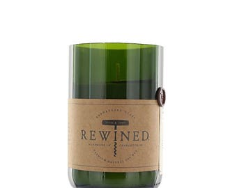 Rewined - Repurposed Wine Bottle Candle - Signature Pinot Noir - 11 oz Soy Wax