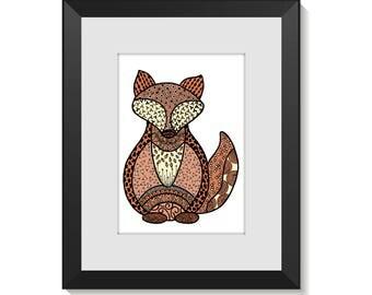 Fine Art Print - Foxy