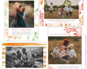 Fall Marketing Ad Bundle - Instant download - e1528