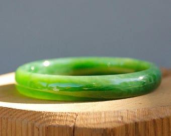 FLASH SALE Jade Bangle - Comfort Fit - AAA Grade Quality - Genuine Jade - Heirloom Bangle