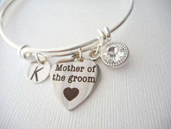 Mother in law wedding gift, Mother of the Groom Bracelet, gifts for ...