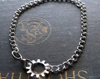 Steampunk Jewelry, Steampunk Gear Bracelet, Gear Jewelry, Steampunk Bracelet, Gear Bracelet, Steampunk Gear, Gothic Jewelry, Gothic Bracelet