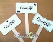 Palette segnagusto, cerimonia, Matrimonio, Battesimo, party, Comunione, Cresima, Laurea, confetti, confettata.